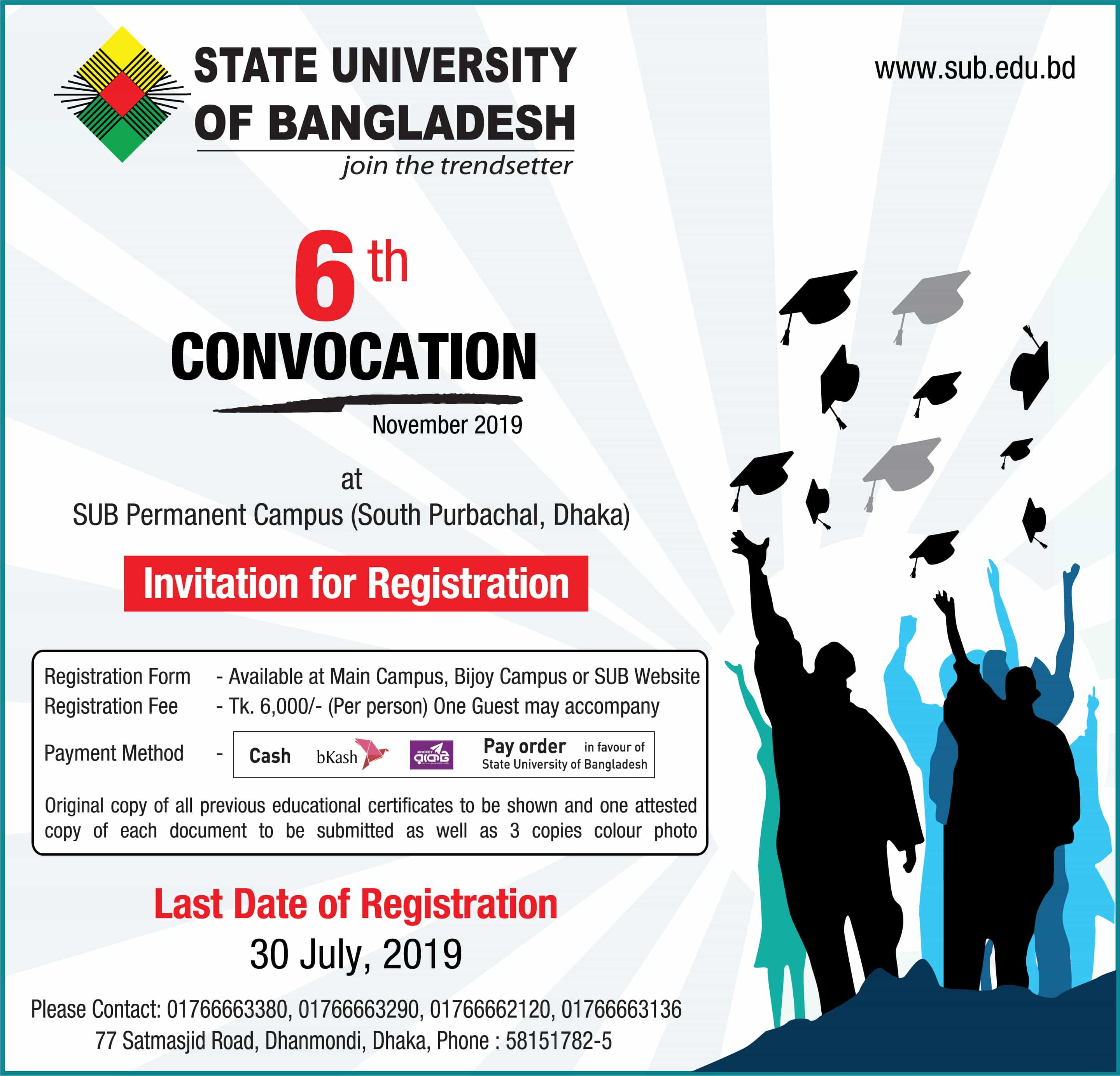 Welcome to State University of Bangladesh | State University of